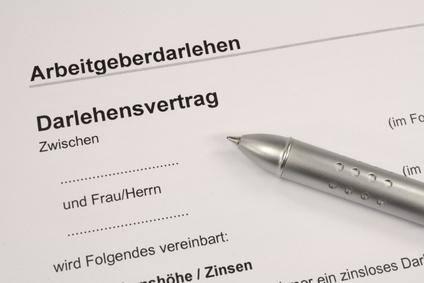 die bedingungen beim arbeitgeberdarlehen - Muster Privater Darlehensvertrag